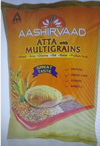 Aashirvaad Multigrains Atta 5 Kg ( Export Pack ) - Expiry- 29th May 2020.