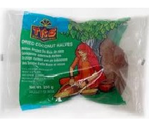 TRS / Natco Dried Coconut Halves 250g