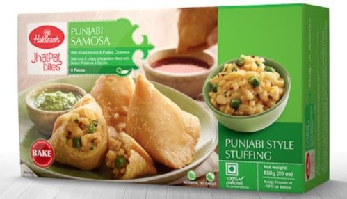 Haldiram Hot and Spice Delhi Style Samosa 8 Pcs - 650 gms (only for munich based customers)