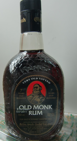 Old Monk Rum 1l