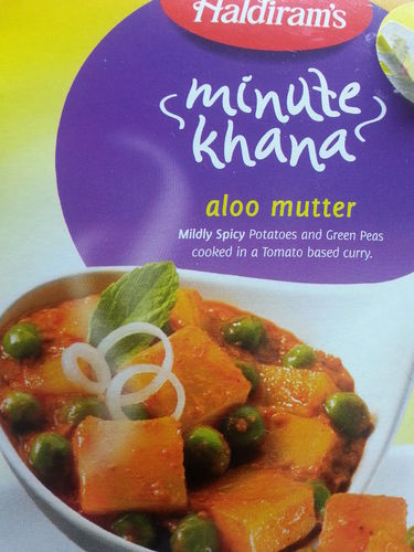 Haldiram Aloo Mutter Ready to Eat