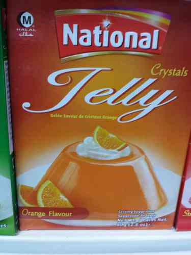National/laziza Jelly Mango 85 gms - Pic For Ref. only. !!
