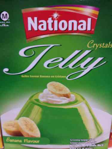 National Jelly Banana Flavour