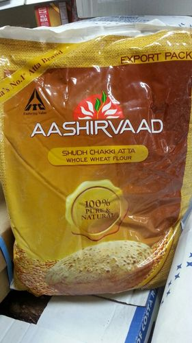 Indian Aashirvaad Atta 5 kg-ITC (Export Pack)  Exp. 17th Aug 2021 !